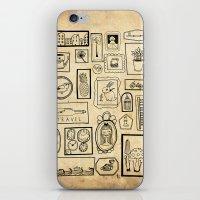 frames iPhone & iPod Skins featuring Frames II by Duru Eksioglu