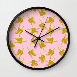 Goin' Bananas Wall Clock