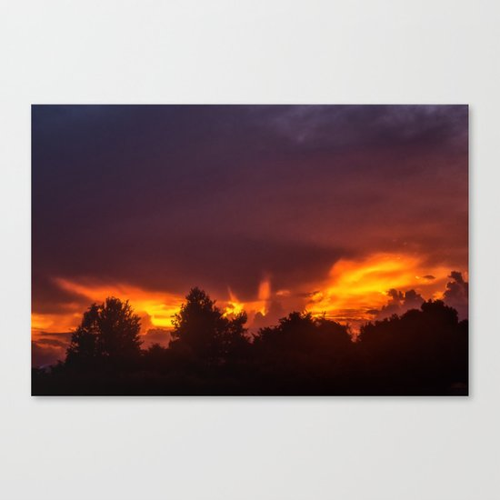 Sunset After The Storm Canvas Print