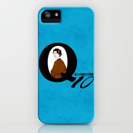 Q: Age Is No Guarantee of Efficiency iPhone Case