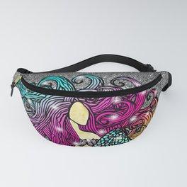 Rainbow Mermaid Fanny Pack