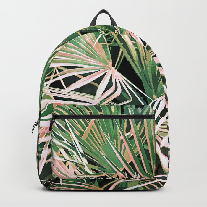 Palms #nature #painting Backpack
