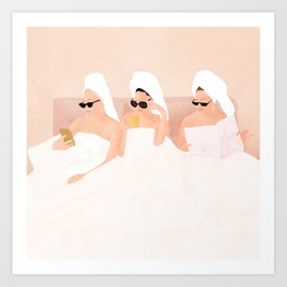 Good Friendly Morning Art Print