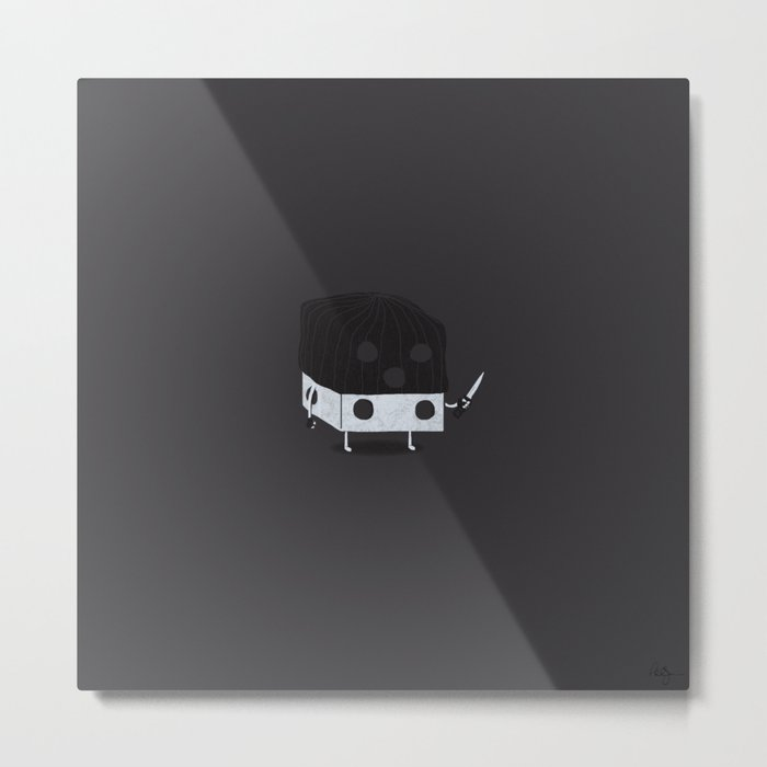Dicey Little Guy Metal Print