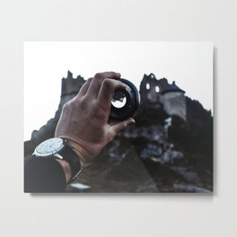 Upside Down Metal Print