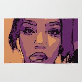 Purple Lip Licker Rug