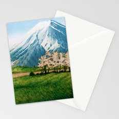 Resting before the Climb Stationery Cards