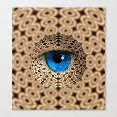 infinite gaze Canvas Print