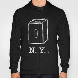 New York apple box (white) Hoody