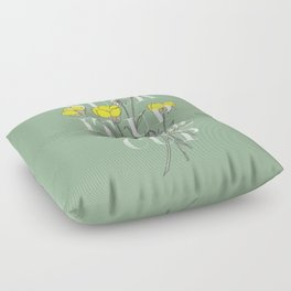 Suck it Up Buttercup Floor Pillow