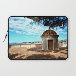 Historic Castle Hill (Colline du Chateau) In Nice Laptop Sleeve