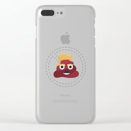No sh#t! Clear iPhone Case