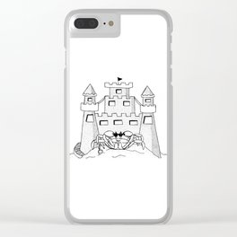 Shovel Up Clear iPhone Case