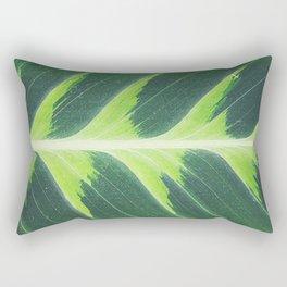 Leaf green Rectangular Pillow