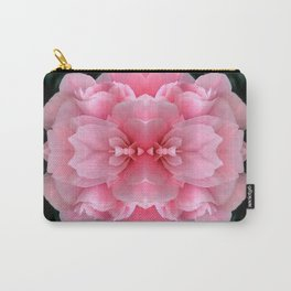 Pink  Rose Mandala Abstract Design Carry-All Pouch