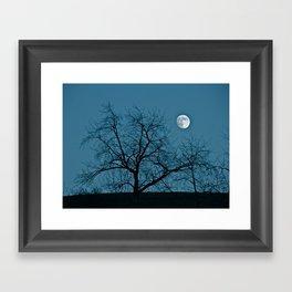 Full Moon 11-8-11 Framed Art Print