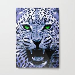 Look into my green eyes Metal Print