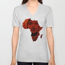 Mother Africa 2 Unisex V-Neck