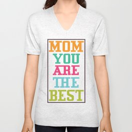 Mother's Day T-Shirt Unisex V-Neck