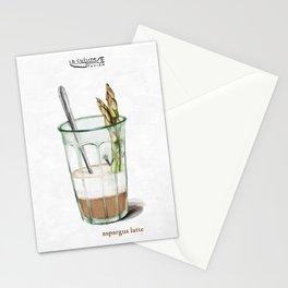 La Cuisine Fusion - Aspargus Latte Stationery Cards