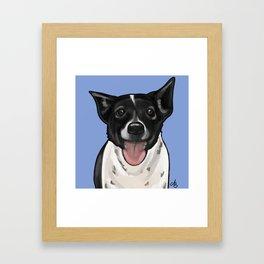 """Toby Keith"" Pet Portrait Framed Art Print"