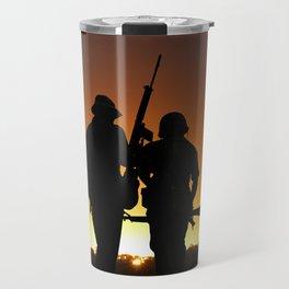 Dawn of the Warrior Travel Mug