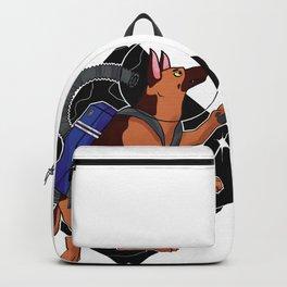 Look to the Stars #4 - Space German Shepherd (color) Backpack
