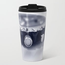 pastel blue hour Travel Mug