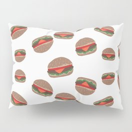 Its Raining Cheeseburgers Pillow Sham
