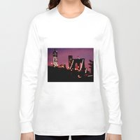 brooklyn bridge Long Sleeve T-shirts featuring Brooklyn Bridge by I Take Pictures Sometimes