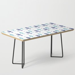 AFE Seahorse Pattern Coffee Table