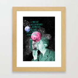 BRUNO Framed Art Print