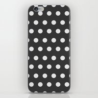 dots iPhone & iPod Skins featuring Dots by Nobu Design