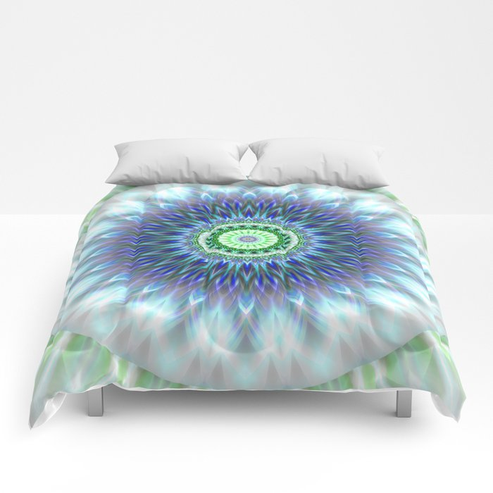 Light Mandala Comforters