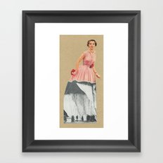 Within the limits of British decency Framed Art Print