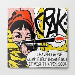 Roy Lichtenstein   Crack! (1963 - 1964)  Metal Print