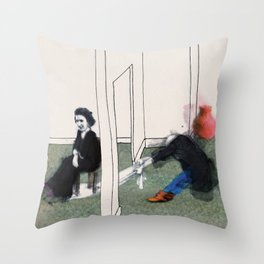 The Monster Series (7/8) Throw Pillow