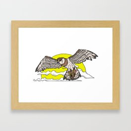 Broadwing  Framed Art Print