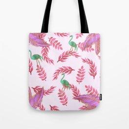 Flamingo rose Tote Bag