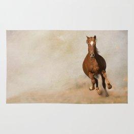 Galloping Horse Rug