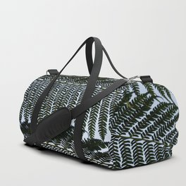Real Fern Pattern Duffle Bag