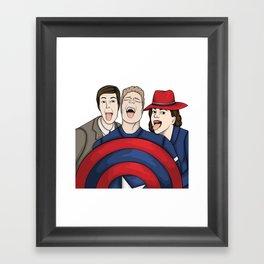 Team Carter Framed Art Print