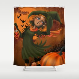 Halloween fun Shower Curtain