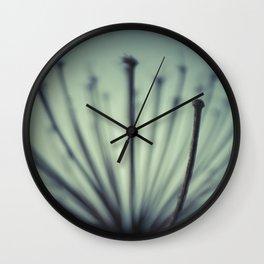 Giant Hogweed Wall Clock