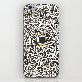 Hidden owl iPhone Skin