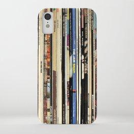 Classic Rock Vinyl Records iPhone Case