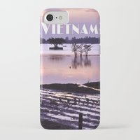 vietnam iPhone & iPod Cases featuring MEKONGDELTA - VIETNAM  by CAPTAINSILVA