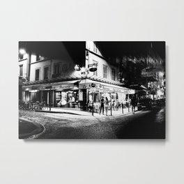 Café le Nazir (Montmartre; Paris) Metal Print