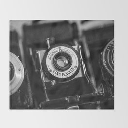 Classic Cameras. Throw Blanket