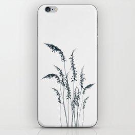 Wild grasses iPhone Skin